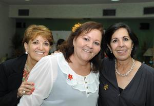 Carmen, Hilde y Rosario