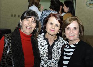 Dolores, María Teresa y Ana Mary