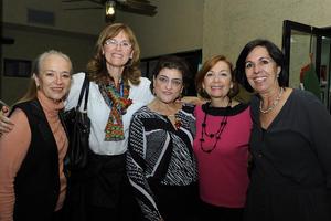 Nancy, Charo, Laura, Norma y Rosario