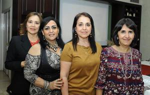 Tere, Norma, Lourdes y Mayela