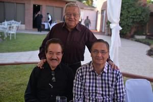 Luis, Ignacio y Eduardo