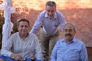 Luis, Víctor y Guerrero