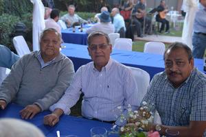 Ricardo, Miguel y Feliciano