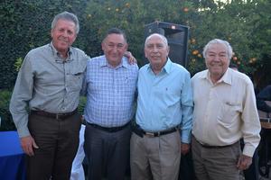 Santiago, Isidro, Chuy y Ángel