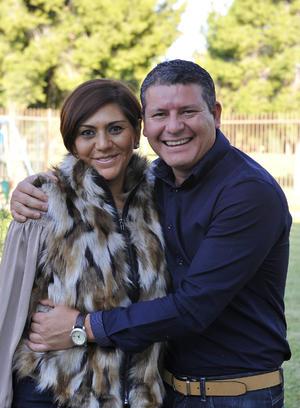 Karina y Juan Pablo
