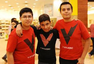 10122016 Pedro, Emilio y Luis.