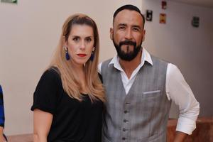 10122016 EN EL NAZAS.  Eugenia y Alejandro.