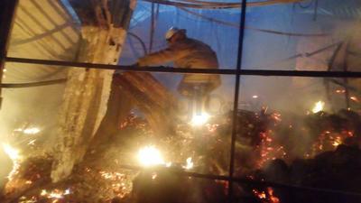 Al lugar acudieron los bomberos de esta ciudad, de Torreón y elementos de Protección Civil.