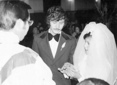 11122016 Sr. José Antonio Mesta Zubía y Sra. Ma. Imelda Hurtado de Mesta el 8 de diciembre de 1976.