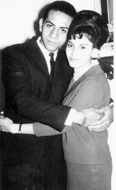 11122016 José Ángel Valle Guzmán y María del Socorro Carrillo González el 24 de diciembre de 1963.
