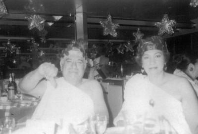 11122016 Miguel Sánchez Carrillo y María Luisa Triana Pacheco en una noche romana en junio de 1990.