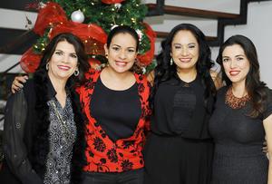 12122016 Claudia, Mara, Vero y Marisol.