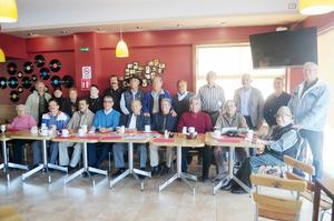 11122016 EMOTIVO REENCUENTRO.  Reunión de la primera generación de la Escuela de Derecho de la UAdeC.