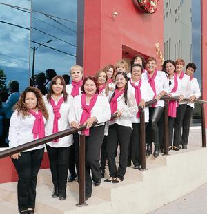 11122016 Integrantes del grupo de apoyo para mujeres con diagnóstico de cáncer de mama.