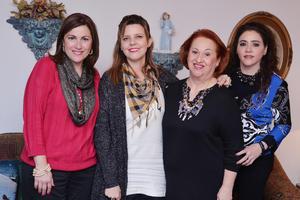 14122016 Cristy, Elena, Tita y Carmelita.
