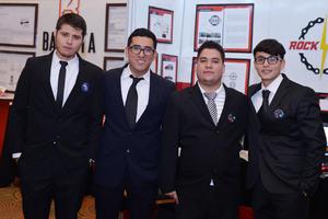 14122016 Brandon, Daniel, Martín y Donaldo.