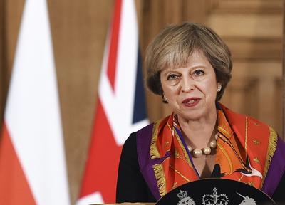 13.- Theresa May, Primer ministro de Reino Unido.