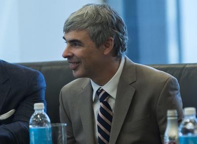 8.- Larry Page, cofundador de Google y CEO de Alphabet.