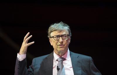 7.- Bill Gates, cofundador de Microsoft y filántropo.