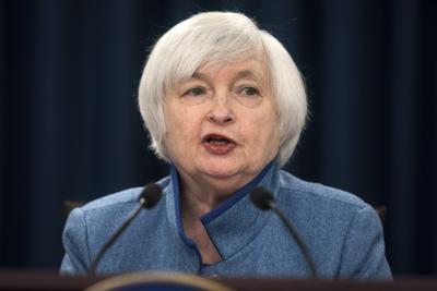 6.- Janet Yellen, presidenta de la Reserva Federal de EU.