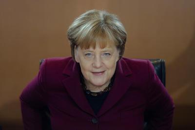 3.- Angela Merkel, presidenta de Alemania.