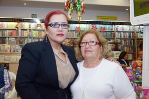 15122016 EN RECIENTE EVENTO.  Gloria y Cristina.