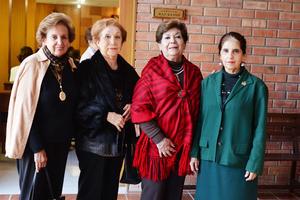 15122016 Pilar, Dora Luz, Artemisa y María Estela.