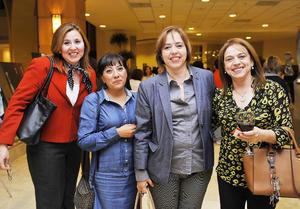 15122016 CONTENTAS.  Sandra, Zenorina, Martha Silvia y Laura.