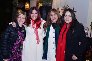16122016 Ale, Hortensia, Rosario y Vicky.