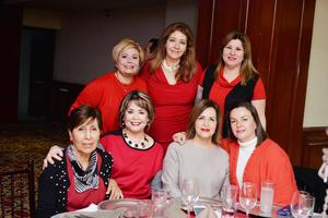 16122016 Marisa, Susy, Marisol, Lupita, Lupita, Carmelita y Silvia.