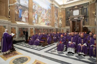 """El obispo de Roma recordó los momentos de su vida en los cuales tuvo """"gran fidelidad"""" a Dios y otros momentos """"feos de infidelidad, de pecado""""."""