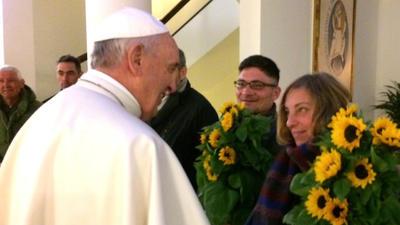 Francisco tuvo invitados muy especiales para su festejo.