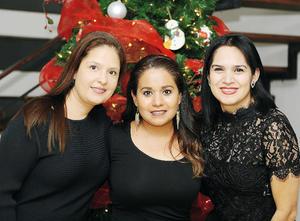 18122016 CONVIVEN.  Erika, Ale y Raquel.