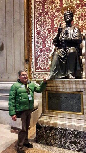 18122016 de visita en el vaticano