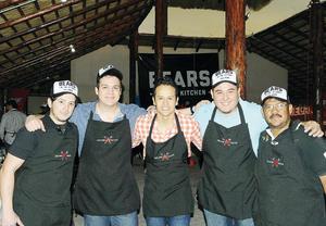 18122016 AMIGOS.  Jorge, Mario, José, Carlos y Rubén.