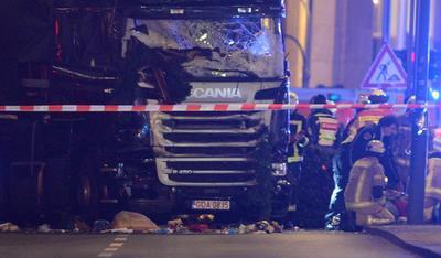 La Policía de Berlín confirmó al menos nueve muertos y 50 lesionados.