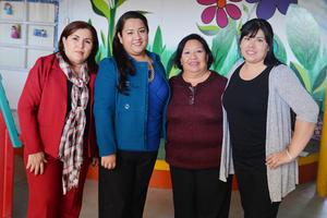 20122016 Marcela, Isabel, Ana María y Laura.
