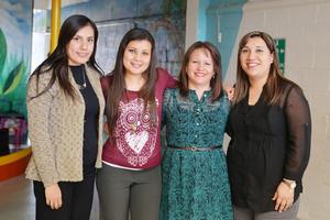 20122016 Sara, Pamela, Gaby y Lety.