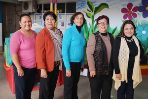 20122016 María de la Luz, Mayela, Dora Elia, Silvia y Valeria.