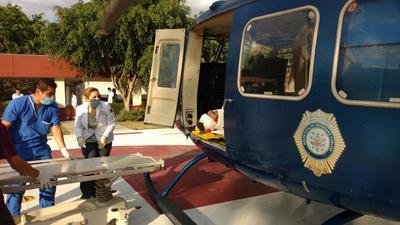 Trasladaron a los heridos a los diversos nosocomios de la zona.
