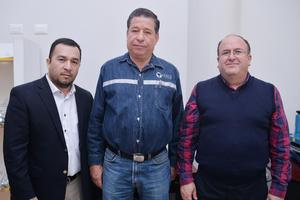 21122016 Jesús Miguel Martínez, Sergio Martínez y Luis Arturo Dávila.