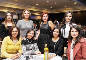 21122016 Paola, Olga, Magdalena, Olivia, Diana, Lizeth, Ana Luisa y Vivi.