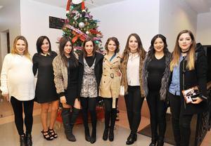 21122016 Aracely, Rocío, Ana, Soraya, Frida, Daniela, Lily y Cecy.