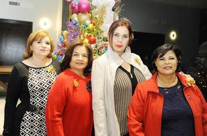 22122016 Yolanda, Olga, Marina y Lupita.