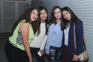 23122016 Jimena, Victoria, Lucía y Dania.