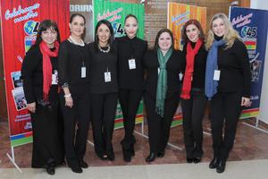 23122016 Adela, Alejandra, Ana Cristina, Cecy, Mafer, Lilian y Astrid.