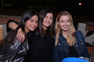 Daniela, Dulce y Paulina