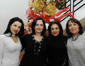 Lorena, Yadira, Ale y Cristy