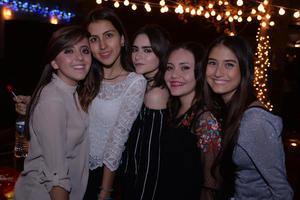 Greta, Sandy, María, Julia y Cynthia