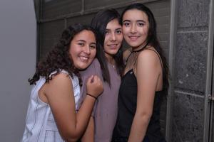 Yolanda, Alfani y Valeria